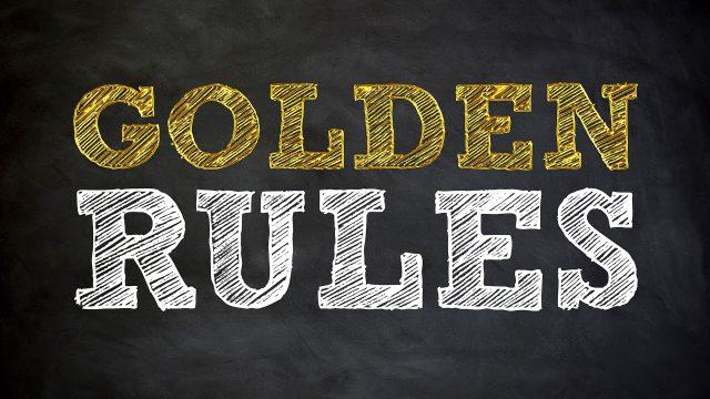 תכנון ווידאו אפקטיבי - GOLDEN RULES